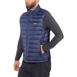 Patagonia Down Sweater Kamizelka Mężczyźni niebieski XL 2019 Bezrękawniki puchowe