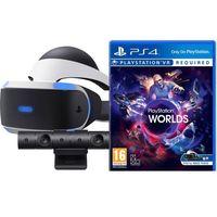 Pozostałe gry i konsole, Sony PlayStation VR + Eye Camera V2 + Gra VR Worlds