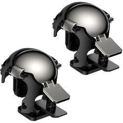 Baseus Level 3 Helmet PUBG pad gamepad joystick do telefonu do gier czarny (GMGA03-A01) - Czarny