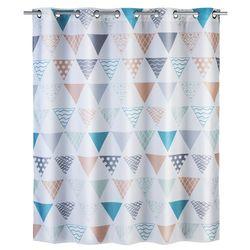 Zasłona prysznicowa Ethno Flexi, tekstylna, 180x200 cm, WENKO