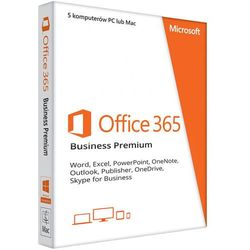 Office 365 PL Business Premium (5 stanowisk, subskrypcja na 6 miesięcy) ESD
