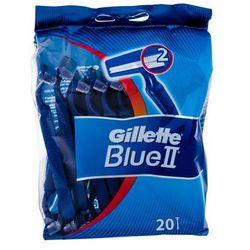 Gillette Blue II maszynka do golenia 1x20 szt dla mężczyzn