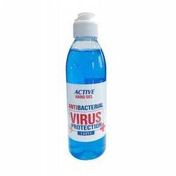 Płyn antywirusowy do dezynfekcji i odkażania rąk 250 ml ACTIVE HAND GEL VIRUS