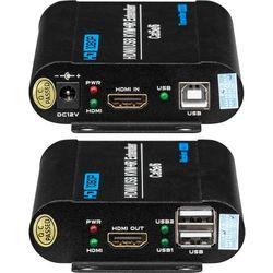 Przedłużacz HDMI oraz USB wykorzystujący jedną skrętkę BCS-UTP-KVM (SET)