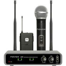 Zestaw bezprzewodowy NOVOX Free HB2 z dwoma mikrofonami + Zamów z DOSTAWĄ JUTRO! + DARMOWY TRANSPORT!