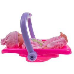 3w1 Huśtawka, krzesełko i nosidełko dla lalek z muzyczką + LALKA 25900DA