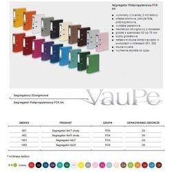 Segregator dźwigniowy Vaupe fck okuty A4 bordowy (062/18)