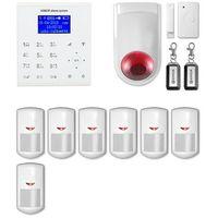 Syreny alarmowe, Alarm bezprzewodowy gsm + WiFi E8 R7 + syrena 105 dB - Alarm bezprzewodowy EXPANDA R7 + syrena 105 dB