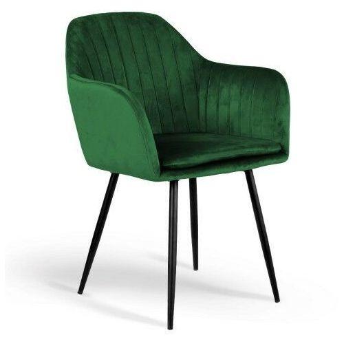 Krzesła, KRZESŁO TAPICEROWANE 8174 ŻÓŁTY WELUR