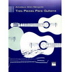 Tres Piezas Para Guitarra. Darmowy odbiór w niemal 100 księgarniach! (opr. miękka)