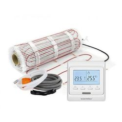 Mata grzejna + regulator temperatury + akcesoria: Kompletny zestaw Warmtec DS2-60/T510 6,0m2 (170W/m2)