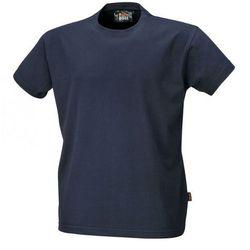T-shirt bawełniany granatowy Beta 7548BL/S