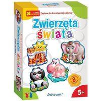Kreatywne dla dzieci, Zwierzęta świata - zestaw do kreatywnej zabawy - Ranok-Creative OD 24,99zł DARMOWA DOSTAWA KIOSK RUCHU