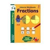 Książki dla dzieci, Usborne workbooks fraction (opr. miękka)