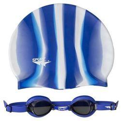 Okulary pływackie SPURT 1100 AF 12 + czepek MI 1
