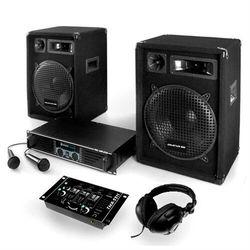 """Electronic-Star Zestaw DJ PA """"Bass-Boomer-USB"""" 800W wzmacniacze mikrofony"""