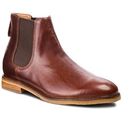 Sztyblety CLARKS - Clarkdale Gobi 261362517 Mohogany Leather