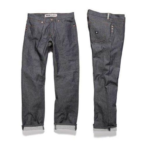 Spodnie męskie, spodnie KREW - Klassics Basics (BLU) rozmiar: 28