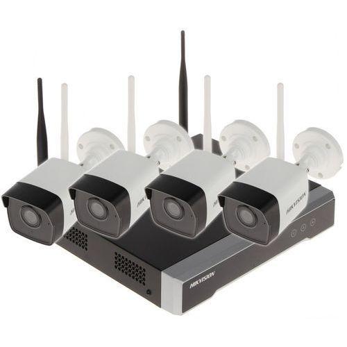 Zestawy monitoringowe, ZESTAW DO MONITORINGU NK42W0-1T(WD) Wi-Fi, 4 KANAŁY - 1080p 2.8 mm HIKVISION