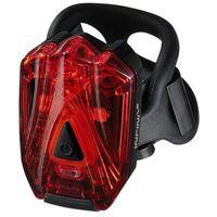 Oświetlenie rowerowe, Lampka tylna Infini Lava 260 R czarna (USB)