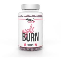 BeastPink Spalacz tłuszczu Night Burn 120 kaps