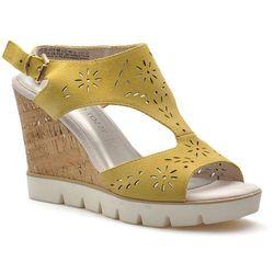 Sandały Marco Tozzi 2-28354-28 Żółte