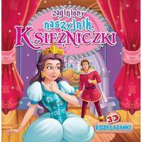 Książki dla dzieci, Rozkładanka 3D Zgubiony naszyjnik Księżniczki - Praca zbiorowa (opr. twarda)
