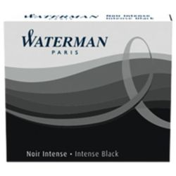 Naboje atramentowe Waterman International 6szt. czarne