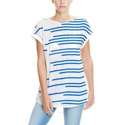 koszula BENCH - Shirt Yves Blue Stripe (P1007)