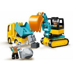 LEGO DUPLO® Town 10931 Koparka samochodowa i gąsienicowa