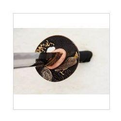 Miecz japoński samurajski ninja do treningu, stal wysokowęglowa 1095, hartowany glinką r869 marki Kuźnia mieczy samurajskich