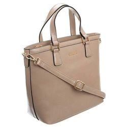 Torebka damska shopper 3830 brązowa marki Monnari